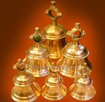 Brass Hanging Bells